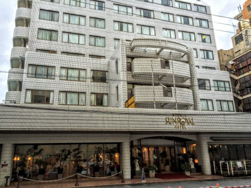 今回の沖縄ツアーで利用したホテルです。格安ツアーでも問題ないホテルで、とても満足しました。