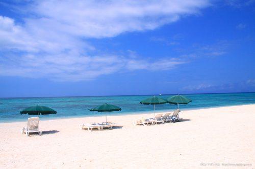 チービシ、ナガンヌ島は那覇泊港から20分の無人島