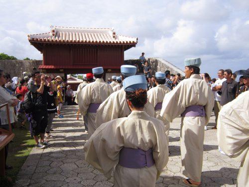 首里城祭古式行列