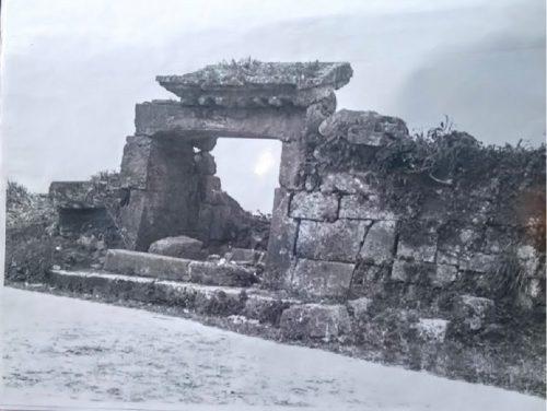 世界遺産「園比屋武御獄石門」