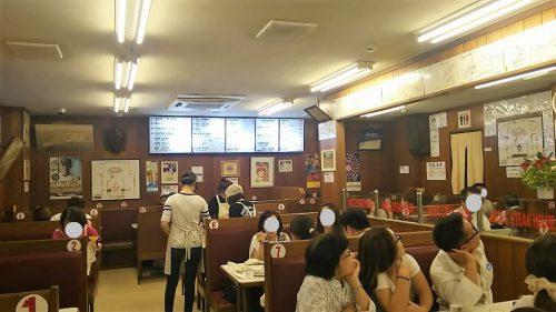 ジャッキーステーキハウスの店内