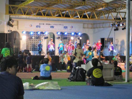 伊平屋ムーンライトマラソン前夜祭、沖縄本島最北の島、月あかりで走る伊平屋ムーンライトマラソン