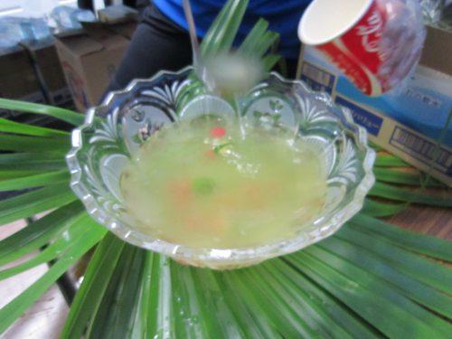 伊平屋酒造の泡盛を使った照島パンチ、沖縄本島最北の島、月あかりで走る伊平屋ムーンライトマラソン