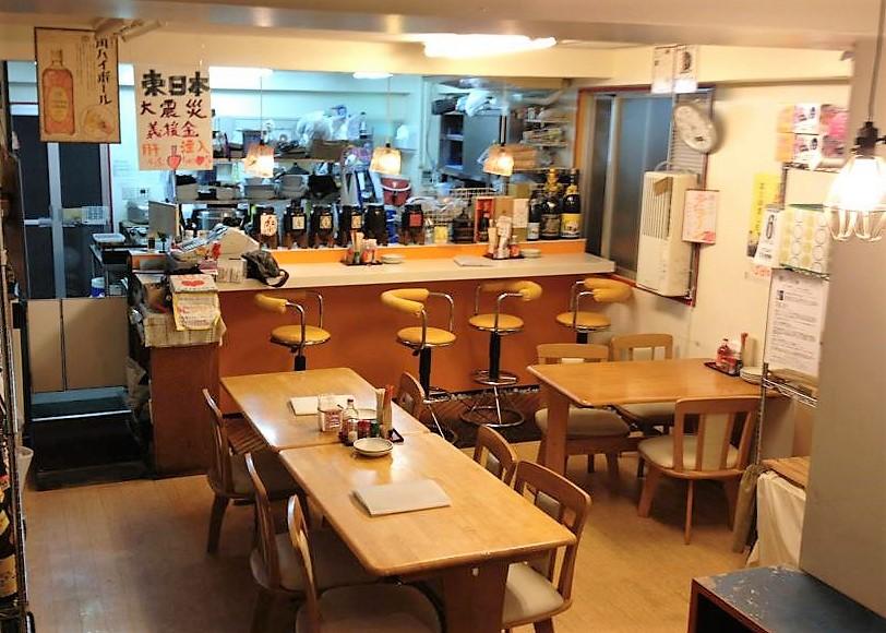 川満しぇんしぇいの寿味ずみ食堂店内