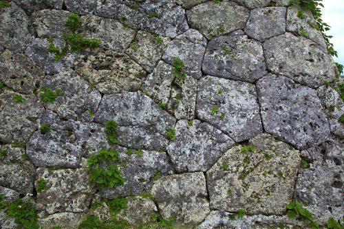 沖縄のグスクの石積み、相方積み