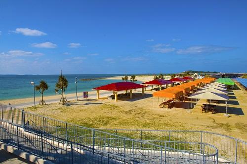ちゅらサンビーチは豊見城市豊崎