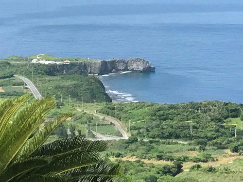 辺戸岬から与論島や沖永良部島まで見える大パノラマ