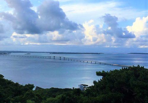 牧山展望台から見たいらぶ大橋