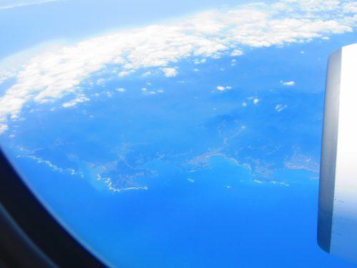 飛行機から 紀伊半島