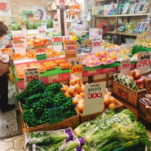 農連市場のすぐ近く太平通りの地元に愛される八百屋!奥間果物菓子商店