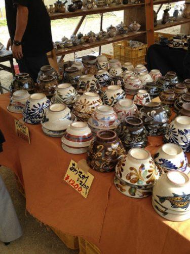 第38回壺屋陶器祭り開催!カーミスーブが盛り上がる、マカイはお椀