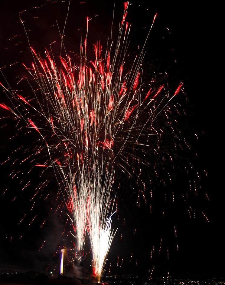 沖縄の花火