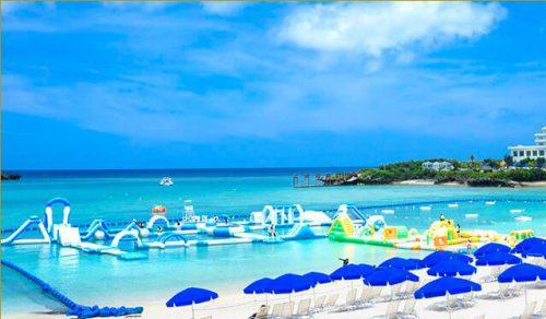 沖縄海上アスレチック オーシャンパーク