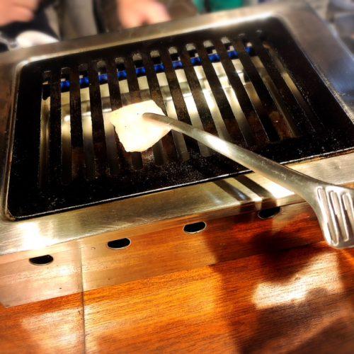 沖縄初ひとり焼肉牛助鉄板