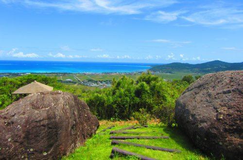 登武那覇城跡とんなはじょうあとは久米島の絶景ポイント