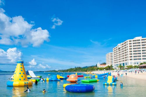 沖縄海上アスレチックリザンシーパークオーシャンパーク