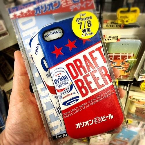 沖縄デザインのスマホケースならオリオンビール