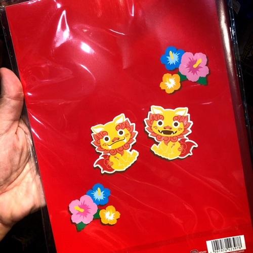 沖縄好きに喜ばれるお土産になる自由帳の裏にはシーサーが!