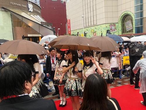 島ぜんぶでおーきな祭沖縄国際映画祭レッドカーペットNMB48