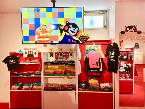 国際通りに日本最大規模のくまモングッズ専門店「KUMA SHOP」