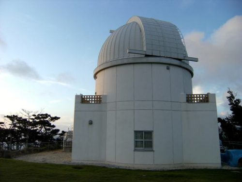 星空保護区に認定された石垣島の観測所