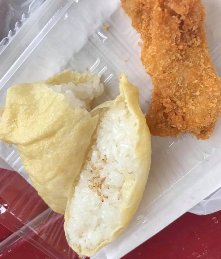 丸一食品のいなり寿司&チキン