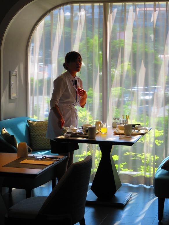 朝食会場がとっても素敵な沖縄本島のホテルヒルトン