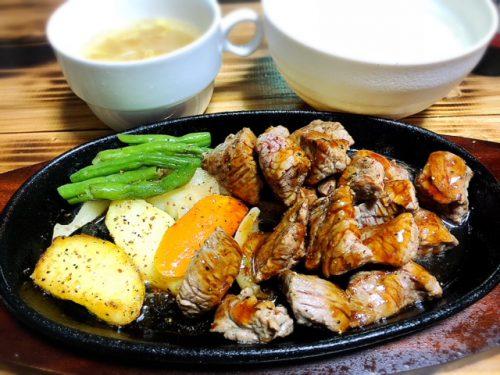 沖縄はステーキ!1000円で食べられるおすすめ百爆ステーキはビール付き