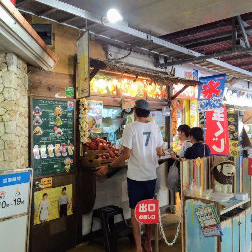 沖縄の夏にはおススメかき氷のお店おんなの駅琉ピン