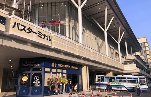 新那覇バスターミナルが完成!那覇OPAも帰ってきた