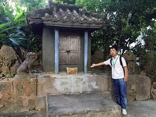那覇・壺屋をゆったりまち歩きでみつける「おきなわスローツアー」拝所の一つ北ぬ宮