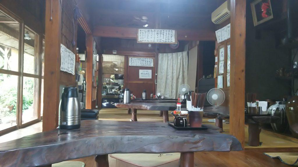 沖縄そばならココ古民家で楽しむ那覇・すーまぬめぇ店内