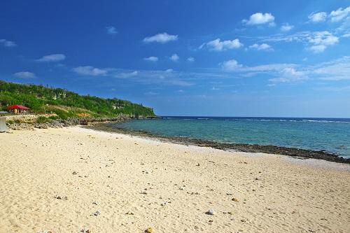 那覇から近いシュノーケリング可能な沖縄本島南部、ジョン万次郎が上陸したビーチで大渡ビーチ