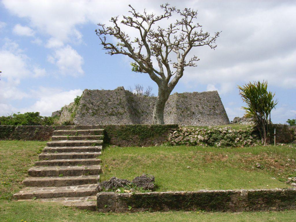 世界遺産中城の石垣