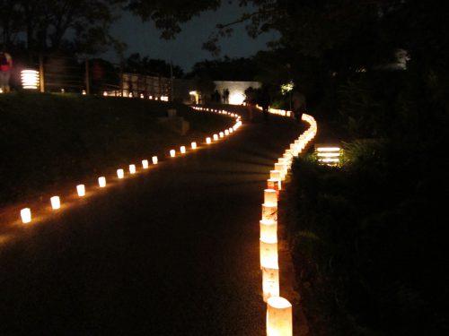 首里城祭の灯火親しむの候