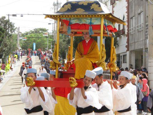 首里城祭り2018は琉球王国の儀式を再現!
