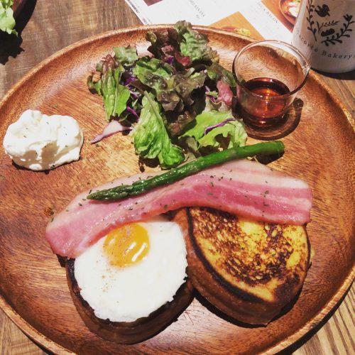 超人気のオハコルテの朝食プレートはおすすめです。