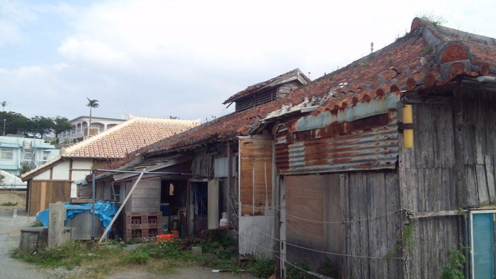 修復前の津嘉山酒造所