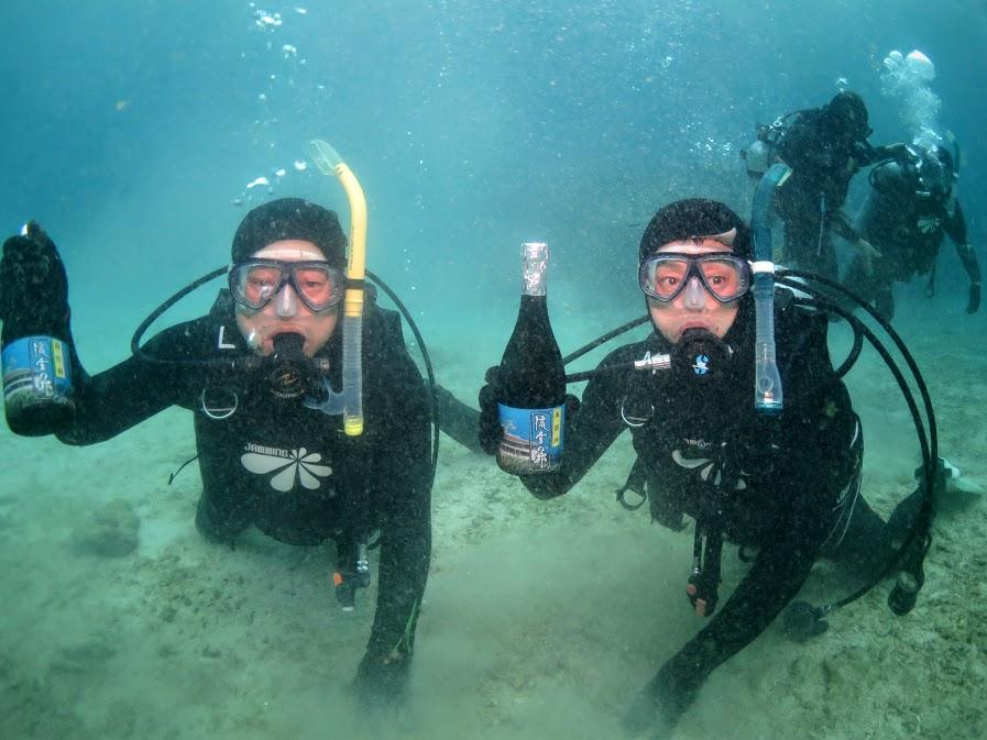 美ら海水族館に近い本部町、泡盛古酒の山川酒造