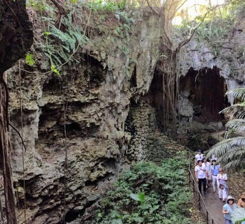 おきなわワールドの中にある大秘境ガンガラーの谷