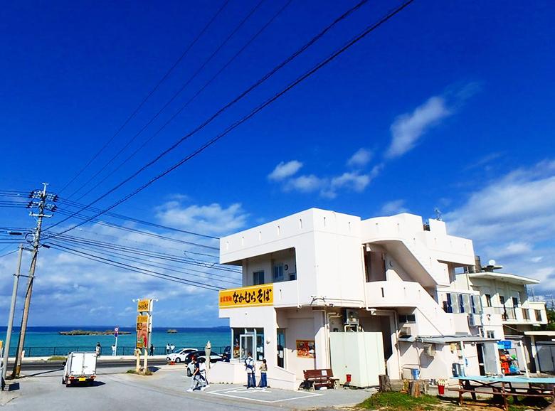 恩納村の沖縄そばは、なかむらそば