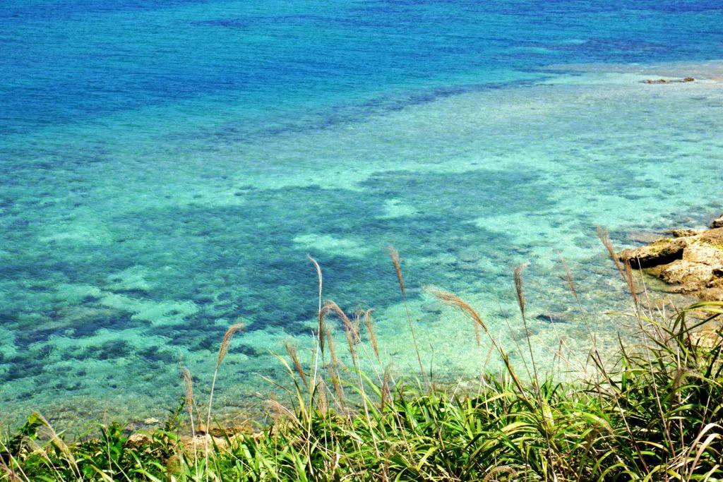 うるま市海中道路の伊計島