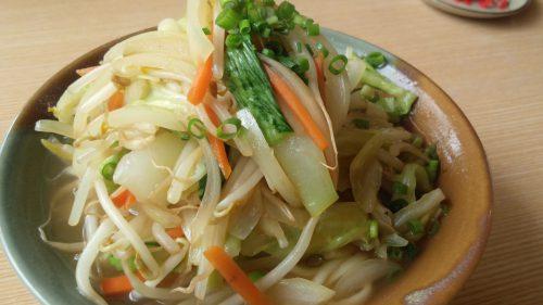 本部町沖縄そば街道の野菜そば