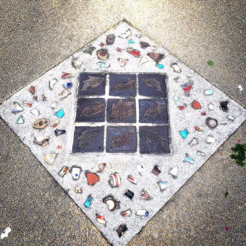 壺屋やちむん通りを歩いて見つけた路上の芸術!