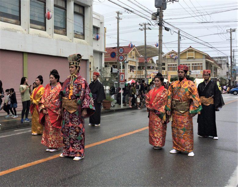 琉球王もさくら祭りに参戦です。