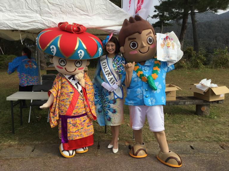 日本一早い八重岳桜祭りはミス沖縄も!