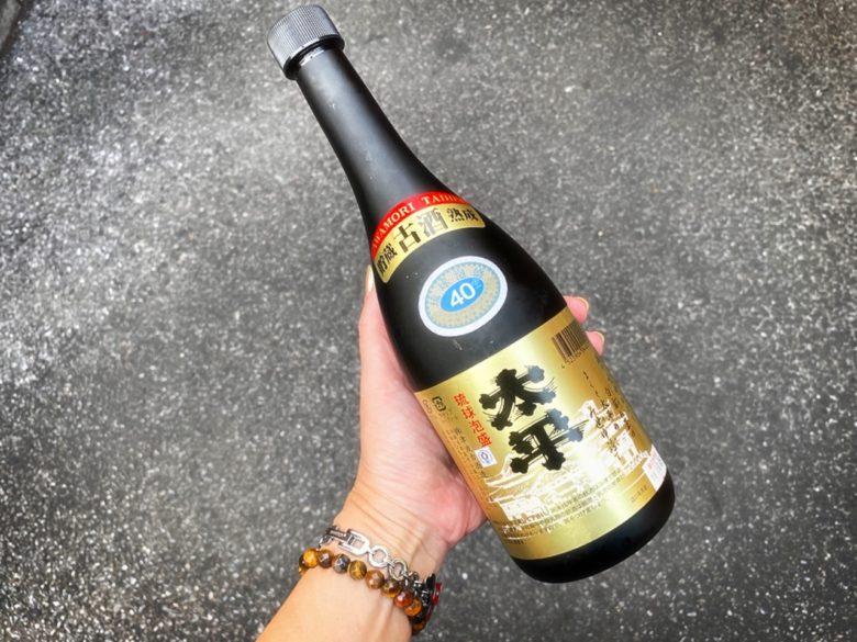 沖縄の地酒琉球泡盛、津波古酒造の太平