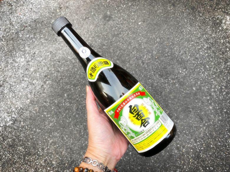 沖縄の地酒琉球泡盛、石垣島池原酒造の白百合