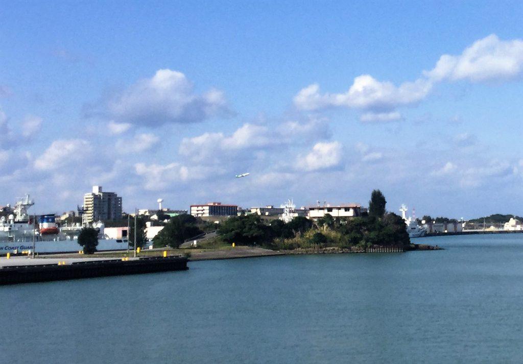 那覇軍港内にある御物城