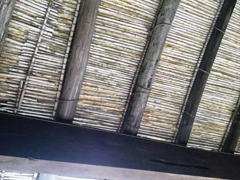 北中城の重要文化財中村家住宅のあまはじ